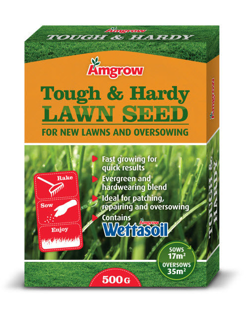 Amgrow Tough and Hardy Lawn Seed_500g
