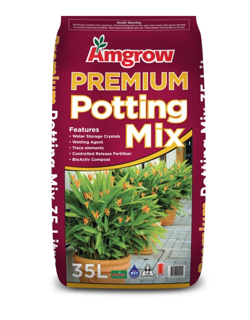 amgrow premium potting mix