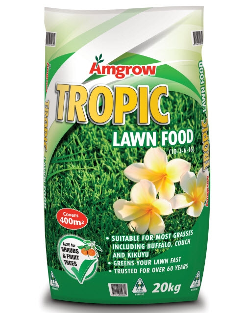 amgrow tropic lawn food