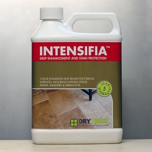 Intensifia Wet Look Deep Enhancement and Stain Protection Sealer by Dry Treat