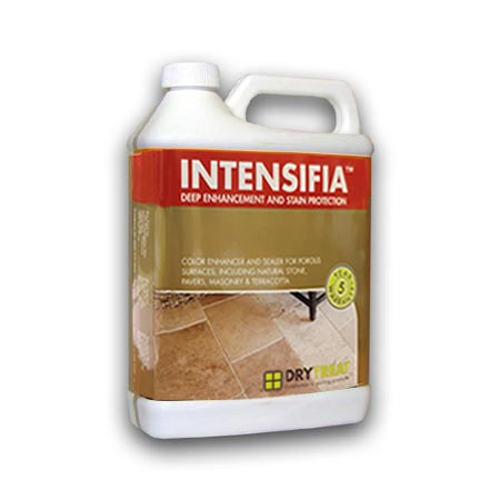 Intensifia Wet Look Deep Enhancement and Stain Protection Sealer Dry Treat