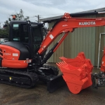 Excavator hire Richmond Sand Gravel and Landscaping Ballina and Lismore