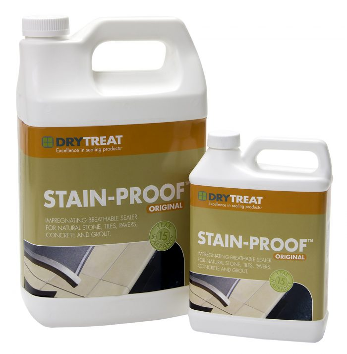 Stain Proof sealer 3.79 Litre and 946ml by Dry Treat