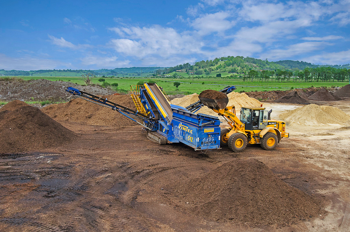 Richmond Sand Gravel and Landscaping Soil Screening Plant