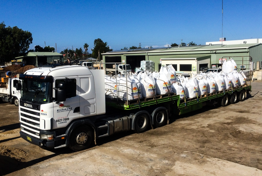 Richmond Sand Gravel and Landscaping Bulk Bags