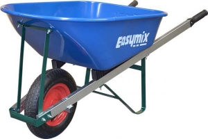 Easymix Handyman Wheelbarrow - Blue Steel