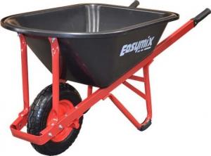 Easymix Red Poly Contractors Wheelbarrow 100 litre