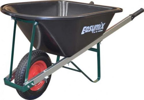 Easymix Poly Tray Handyman Wheel Barrow 100 Litre