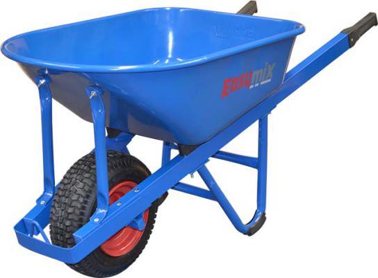 Easymix Blue Steel Extra Heavy Duty Contractors Wheelbarrow