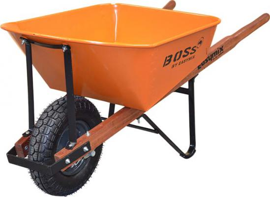 Boss Extra Heavy-Duty Contractors Wheelbarrow 100 Litre capacity