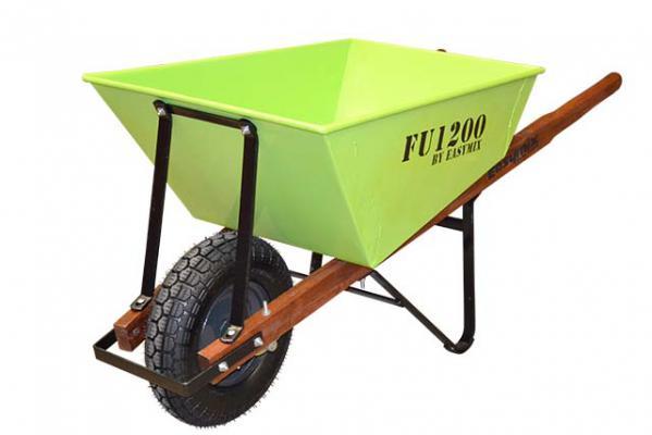 100 Litre Boss Extra Heavy-Duty Square Tray Contractors Wheelbarrow