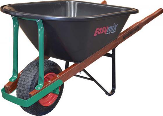Green Poly Heavy Duty Landscapers Wheelbarrow 100 Litre by Easymix