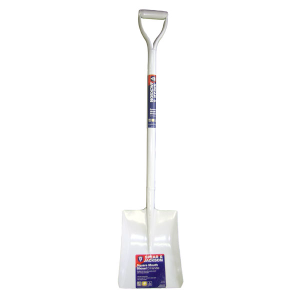 Contractor All Steel Square Mouth Shovel with D Handle by Spear & Jackson