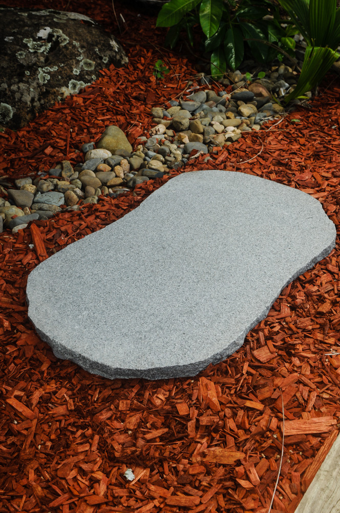 Gunmetal Granite Stepping Stone for Landscaping gardens and pathways