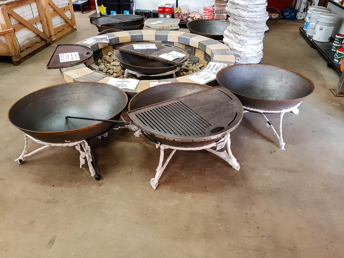 Cast Iron Firepit with base