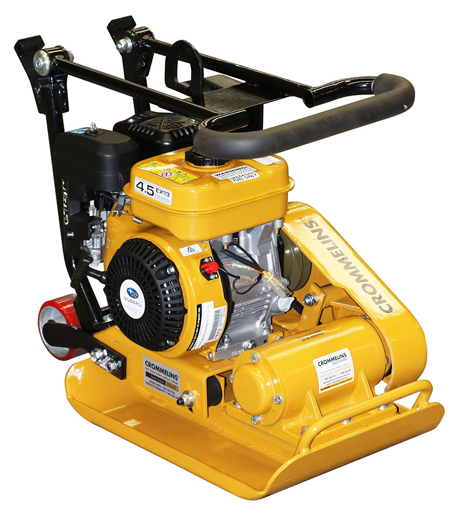 Hire Plate Compactor - Wakka Pakka for compacting surfaces