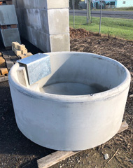 Precast Concrete Pipes, Pits & Troughs