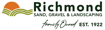 Richmond Sand Gravel and Landscaping Logo